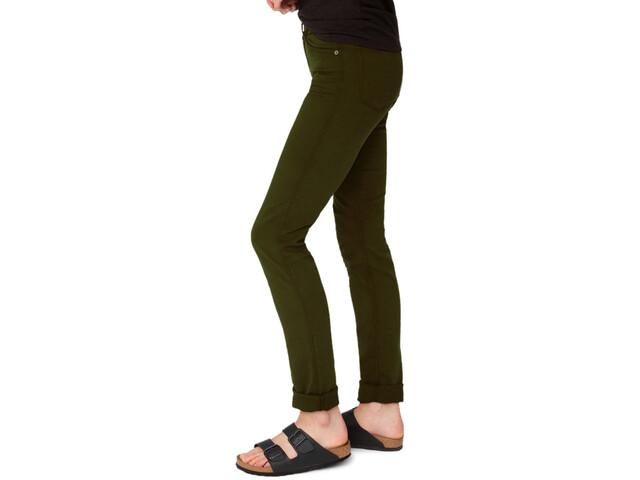 DUER No Sweat Pantalones Rectos Mujer, Oliva